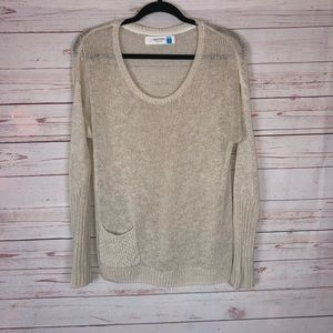 Anthropologie Sparrow Knit Sweater Size S